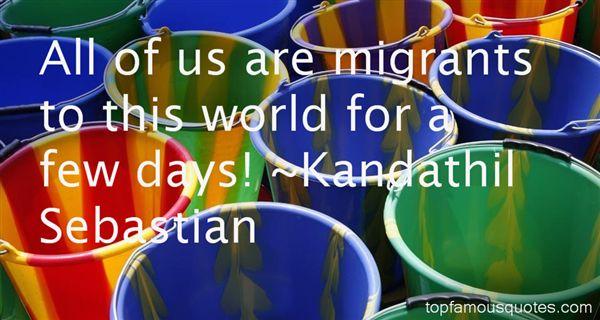 Kandathil Sebastian Quotes