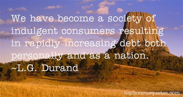 L.G. Durand Quotes