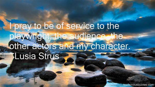 Lusia Strus Quotes