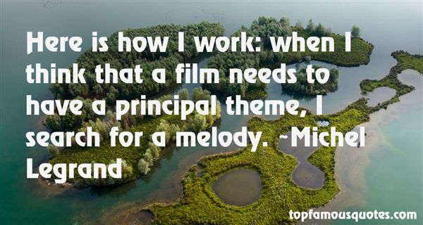 Michel Legrand Quotes