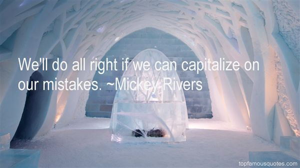 Mickey Rivers Quotes
