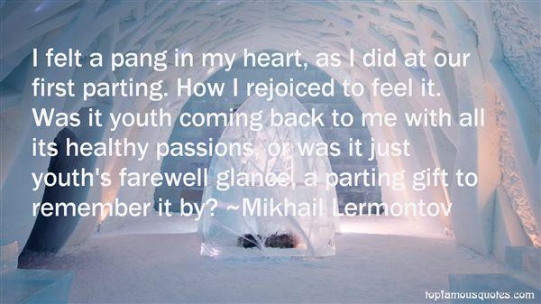 Mikhail Lermontov Quotes