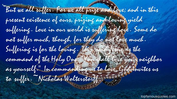 Nicholas Wolterstorff Quotes