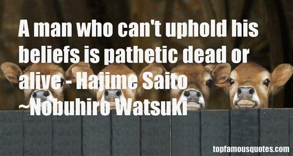 Nobuhiro Watsuki Quotes