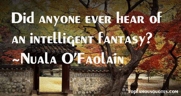 Nuala O'Faolain Quotes