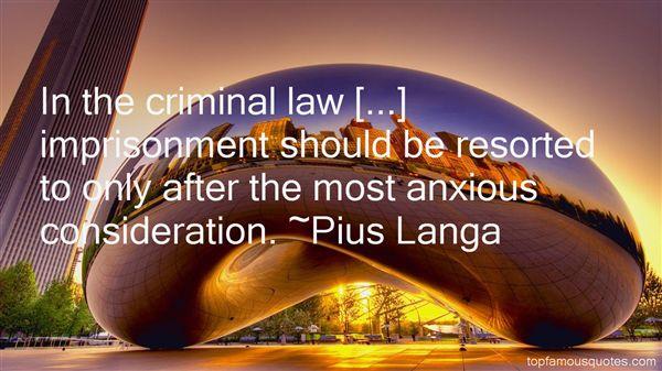 Pius Langa Quotes