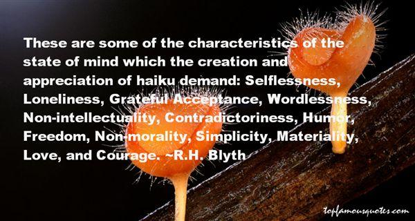 R.H. Blyth Quotes