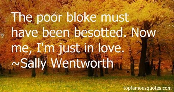 Sally Wentworth Quotes