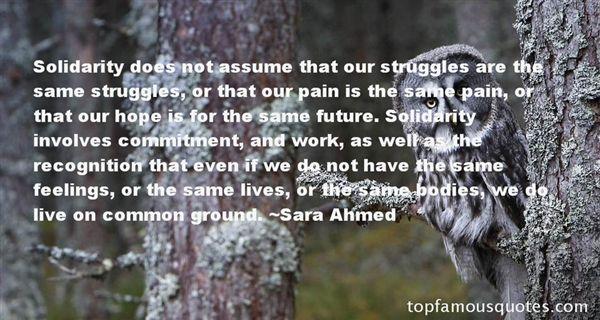 Sara Ahmed Quotes