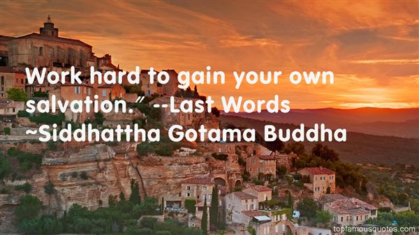 Siddhattha Gotama Buddha Quotes