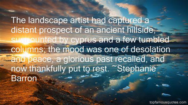 Stephanie Barron Quotes