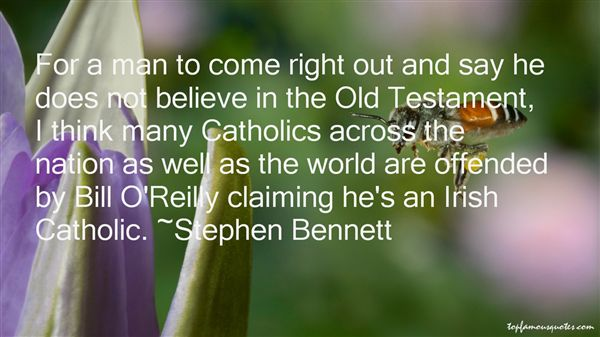 Stephen Bennett Quotes
