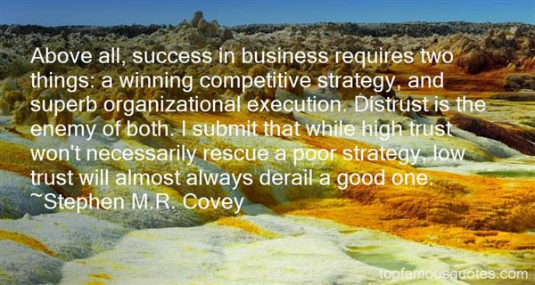 Stephen M.R. Covey Quotes