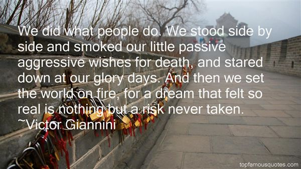 Victor Giannini Quotes