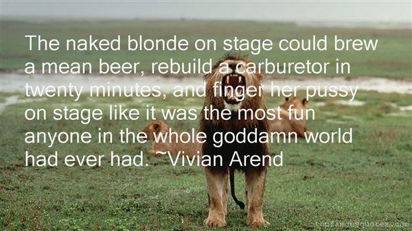 Vivian Arend Quotes