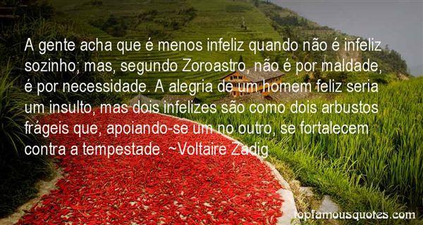 Voltaire Zadig Quotes