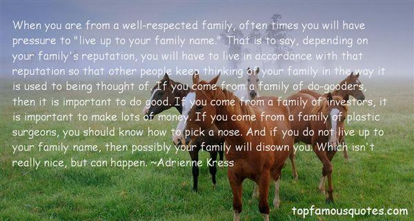 Adrienne Kress Quotes