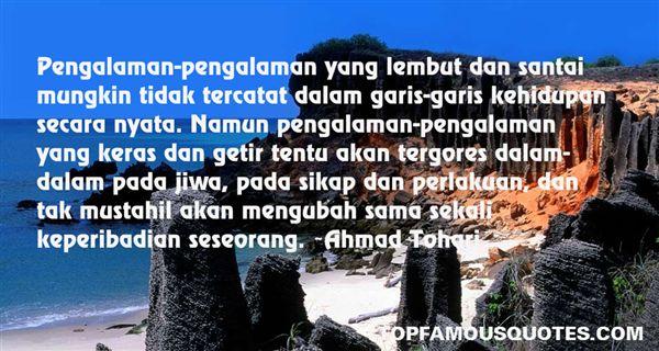 Ahmad Tohari Quotes