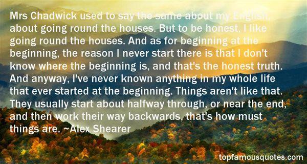 Alex Shearer Quotes