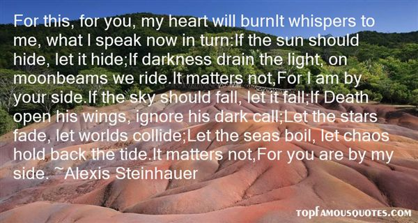 Alexis Steinhauer Quotes