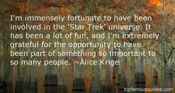 Alice Krige Quotes