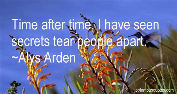 Alys Arden Quotes