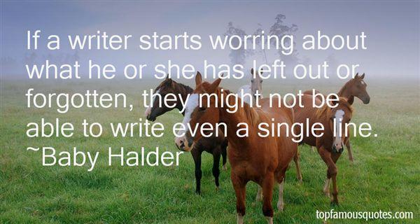 Baby Halder Quotes