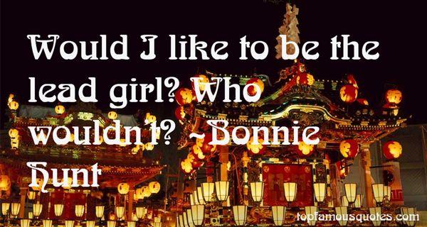 Bonnie Hunt Quotes