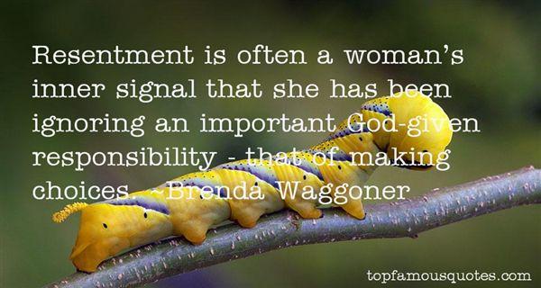 Brenda Waggoner Quotes
