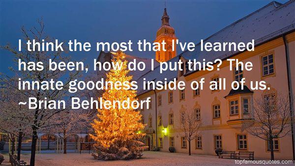 Brian Behlendorf Quotes