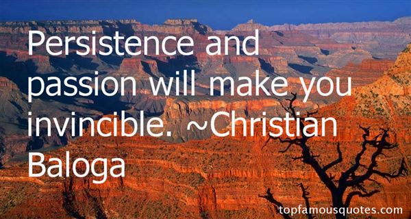 Christian Baloga Quotes