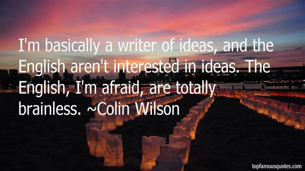 Colin Wilson Quotes