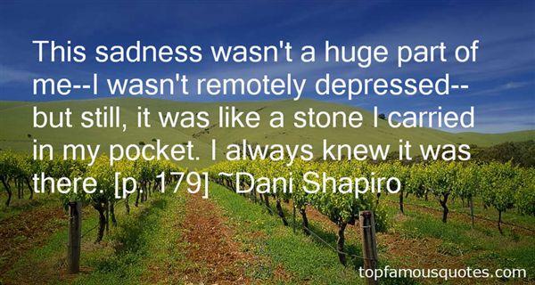 Dani Shapiro Quotes