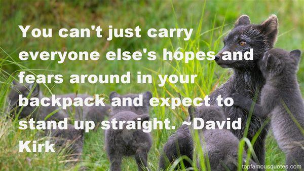 David Kirk Quotes
