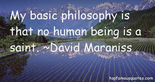 David Maraniss Quotes