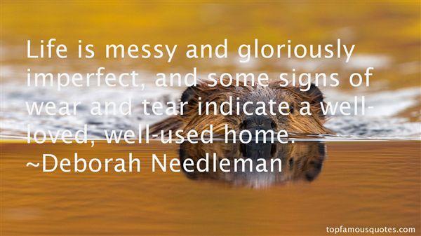 Deborah Needleman Quotes