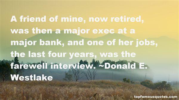Donald E. Westlake Quotes