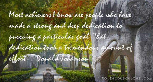 Donald Johanson Quotes