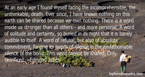 Edmond Jabès Quotes