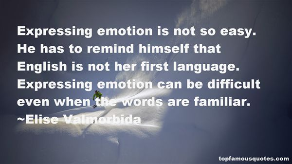 Elise Valmorbida Quotes