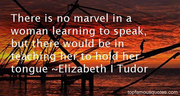 Elizabeth I Tudor Quotes