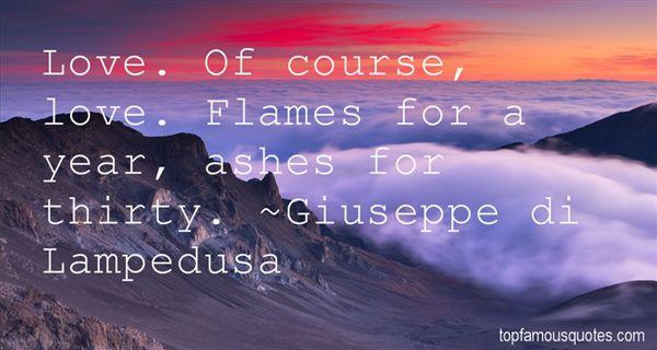 Giuseppe Di Lampedusa Quotes