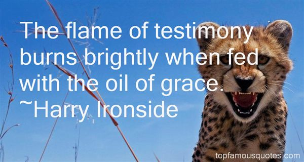 Harry Ironside Quotes
