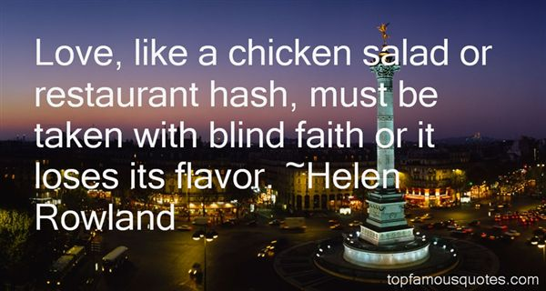 Helen Rowland Quotes