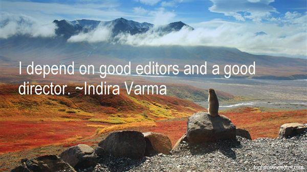 Indira Varma Quotes