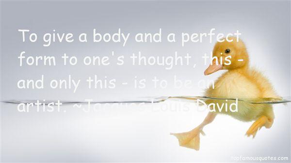 Jacques Louis David Quotes