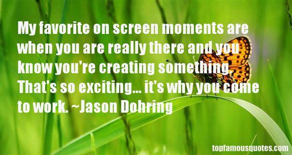 Jason Dohring Quotes