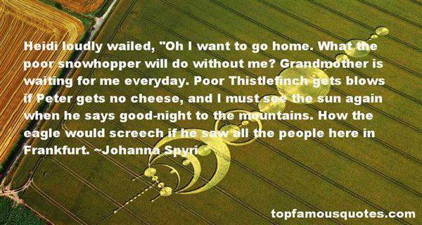Johanna Spyri Quotes