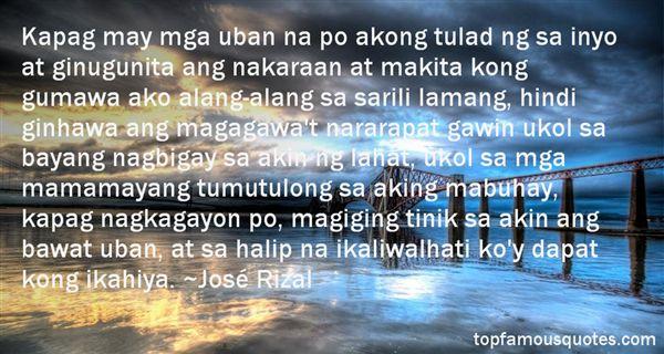 José Rizal Quotes