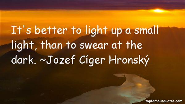 Jozef Cíger Hronský Quotes